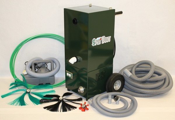 SpinDuct Air Duct Cleaning Equipment Package